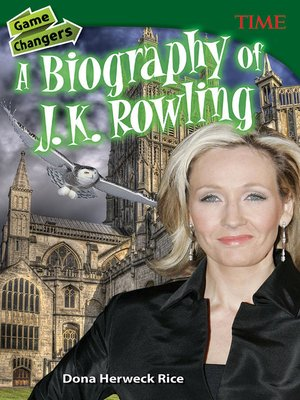 cover image of Game Changers: A Biography of J. K. Rowling