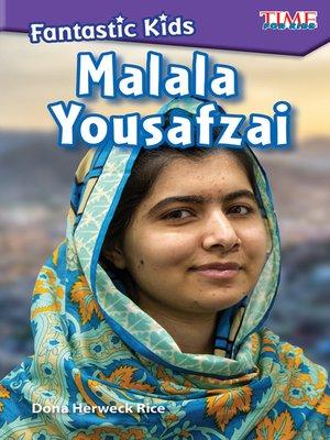 cover image of Fantastic Kids: Malala Yousafzai