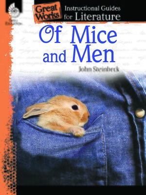 cover image of Of Mice and Men: Instructional Guides for Literature