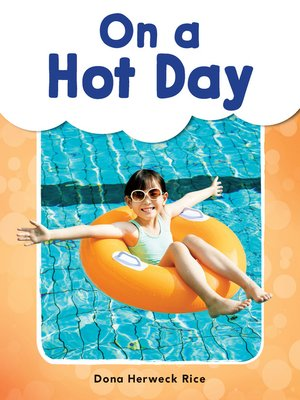 cover image of On a Hot Day