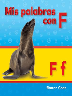 cover image of Mis palabras con F