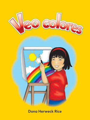 cover image of Veo colores