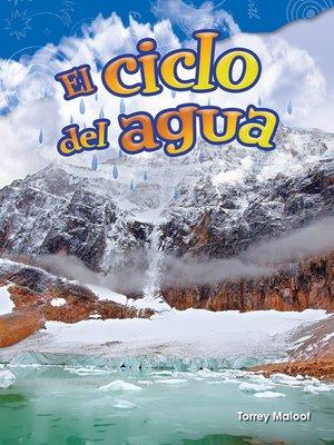cover image of El ciclo del agua