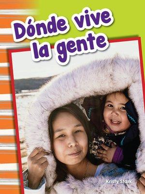 cover image of Donde vive la gente