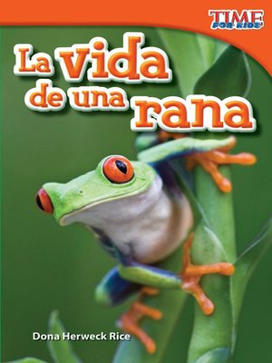 cover image of La vida de una rana