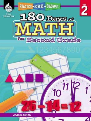 cover image of 180 Days of Math for Second Grade: Practice, Assess, Diagnose