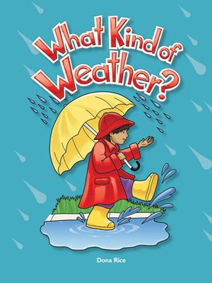 cover image of What Kind of Weather?