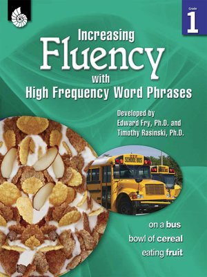 cover image of Increasing Fluency with High Frequency Word Phrases Grade 1