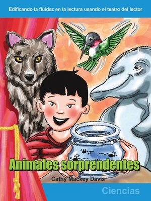 cover image of Animales sorprendentes
