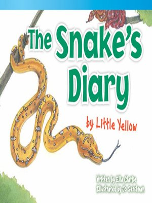 cover image of The Snake's Diary by Little Yellow