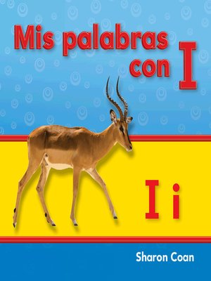 cover image of Mis palabras con I