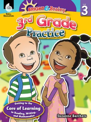 cover image of Bright & Brainy: 3rd Grade Practice