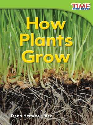 cover image of How Plants Grow