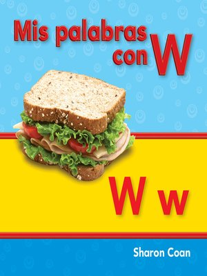 cover image of Mis palabras con W