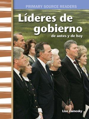 cover image of Líderes de gobierno de antes y de hoy