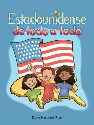 cover image of Estadounidense de todo a todo