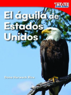 cover image of El águila de Estados Unidos