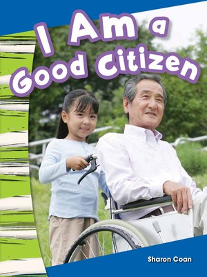 cover image of I Am a Good Citizen