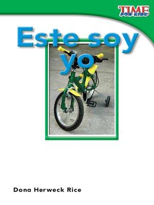 cover image of Este soy yo