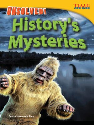 cover image of Unsolved! History's Mysteries