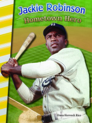 cover image of Jackie Robinson: Hometown Hero