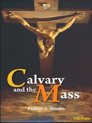 cover image of Calvary and the Mass