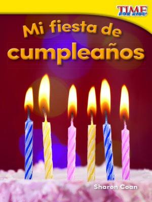 cover image of Mi fiesta de cumpleaños