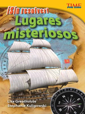 cover image of ¡Sin resolver! Lugares misteriosos