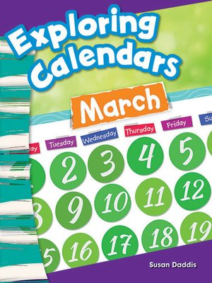 cover image of Exploring Calendars March