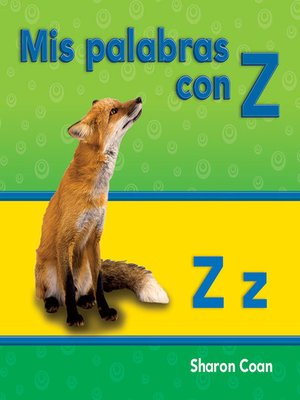 cover image of Mis palabras con Z