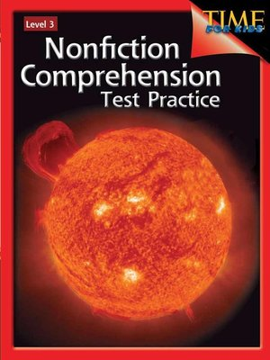 cover image of Nonfiction Comprehension Test Practice Level 3