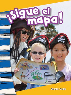 cover image of ¡Sigue el mapa!