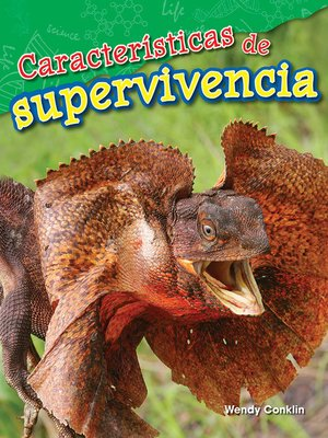 cover image of Características para la supervivencia