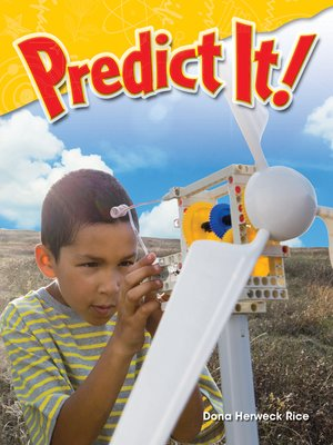 cover image of Predict It!