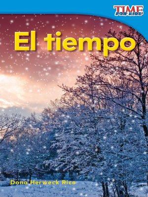 cover image of El tiempo