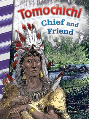 cover image of Tomochichi: Chief and Friend