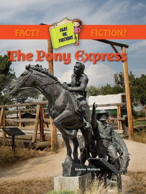 cover image of The Pony Express