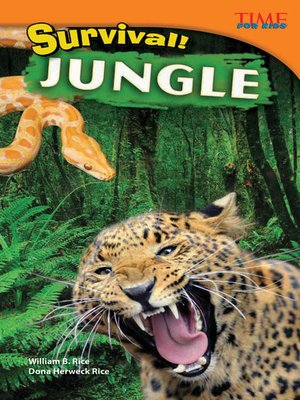 cover image of Survival! Jungle