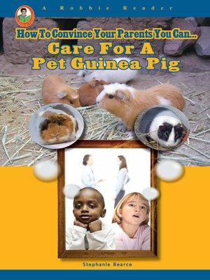 cover image of Care for a Pet Guinea Pig