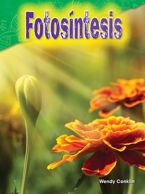 cover image of Fotosíntesis