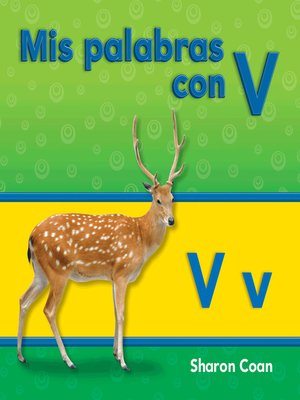cover image of Mis palabras con V