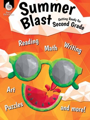 cover image of Summer Blast Getting Ready for Second Grade
