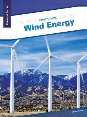 cover image of Examining Wind Energy