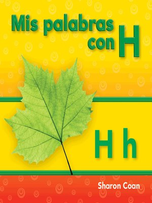 cover image of Mis palabras con H