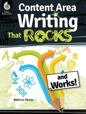 cover image of Content-Area Writing That Rocks and Works!