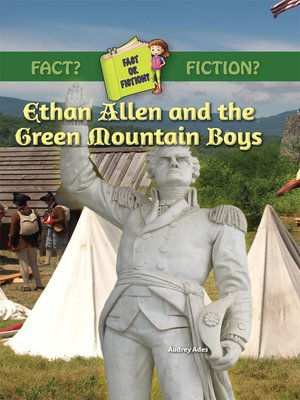 cover image of Ethan Allen and the Green Mountain Boys