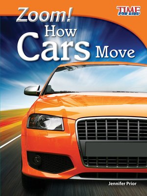 cover image of Zoom! How Cars Move