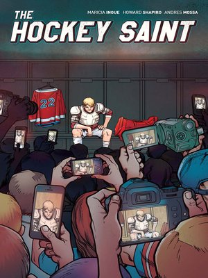 cover image of The Hockey Saint