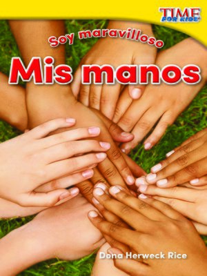 cover image of Soy maravilloso: Mis manos