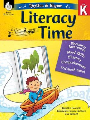 cover image of Rhythm & Rhyme Literacy Time Level K